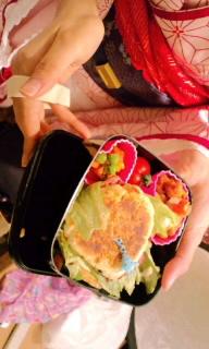 ほたるちゃんの手作り弁当